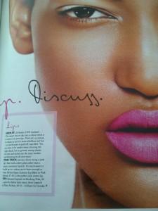 Recent UK Grazia beauty editiorial