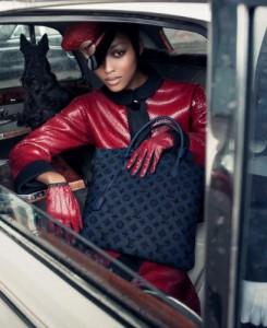 16 year old Northampton beauty, Nyasha Matonhodze for Louis Vuitton (AW/11)
