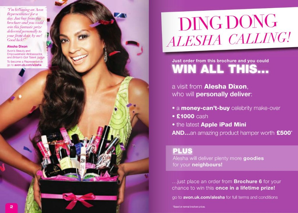 Alesha-Dixon-the-Avon-customer-competition