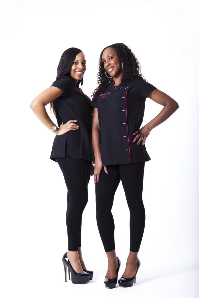 Tam (L) and Trina - the Mane Divas