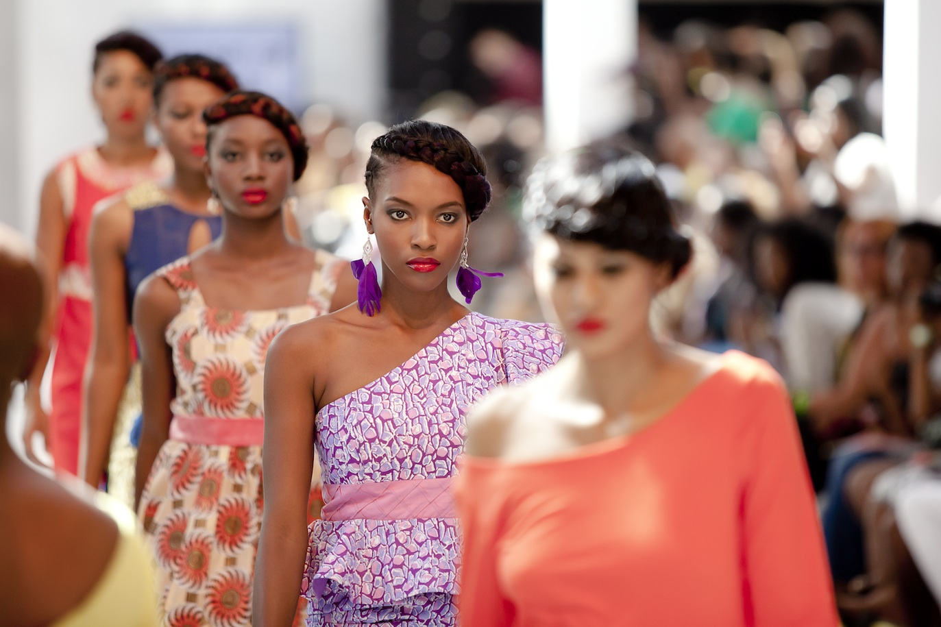 African Fashion Week London on 3rd August 2013 at Truman Brewery, London