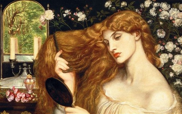 Lady Lilith by Dante Gabriel Rossetti.
