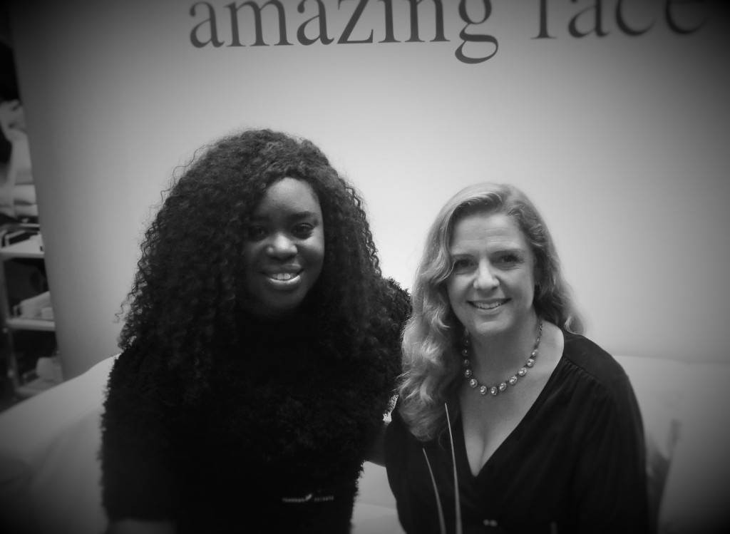 Facialist and entrepreneur Emma Hardie and I!