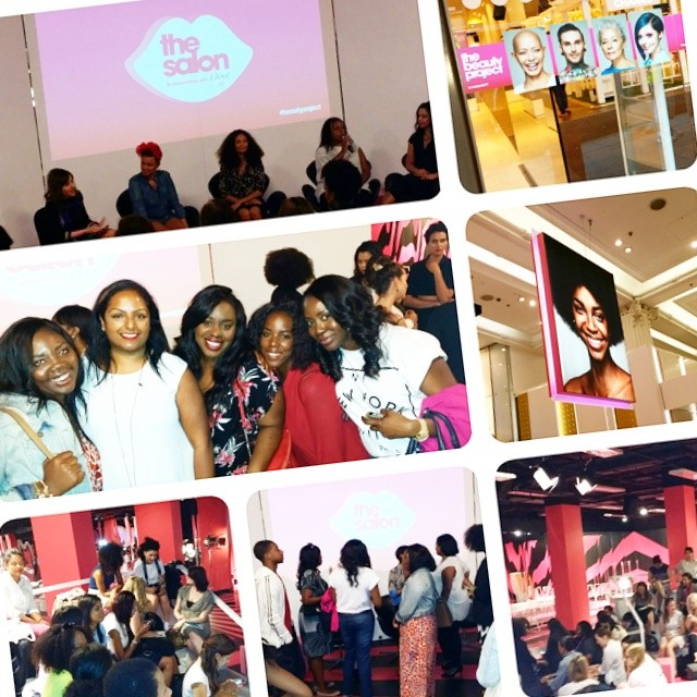 ...but it was great to connect with #teambrownbeauty  as usual! #brownbeauty #brownbeautybloggers #bbloggers #beauty #beautychat