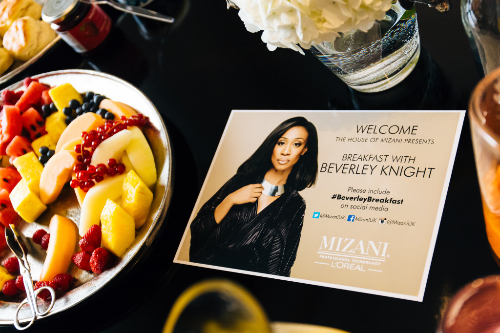 Mizani press launch to announce Beverley Knight as brand ambassador