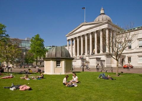 The famous UCL Quad