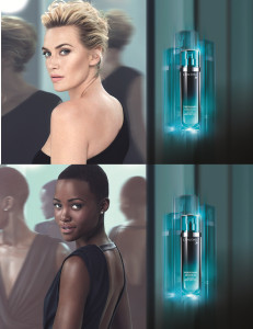 Kate Winslet and Lupita Nyong'o for Lancôme