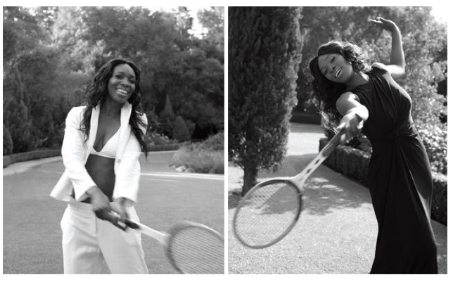 Venus and Serena Williams. Hamptons Magazine 2011
