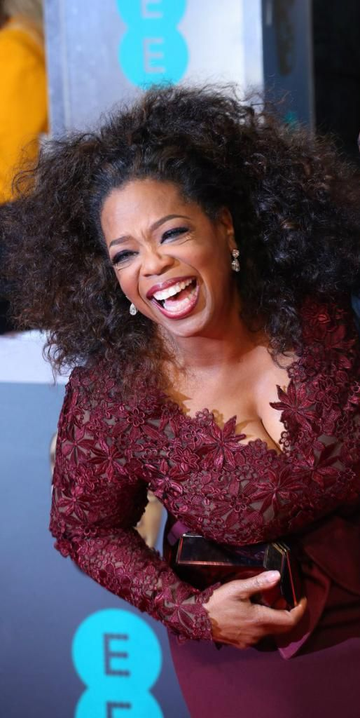 Oprah Winfrey - 2014 BAFTAs