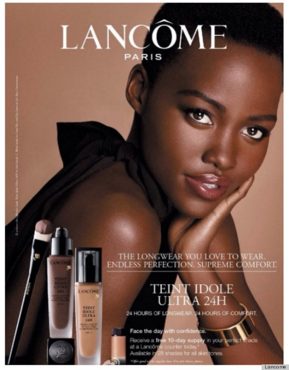 Lupita N'Yongo's joined global brand Lancôme as an Ambassador last year.