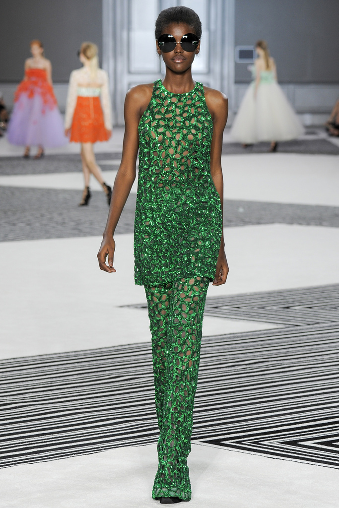 Amilna Estevão for Giambattista Valli
