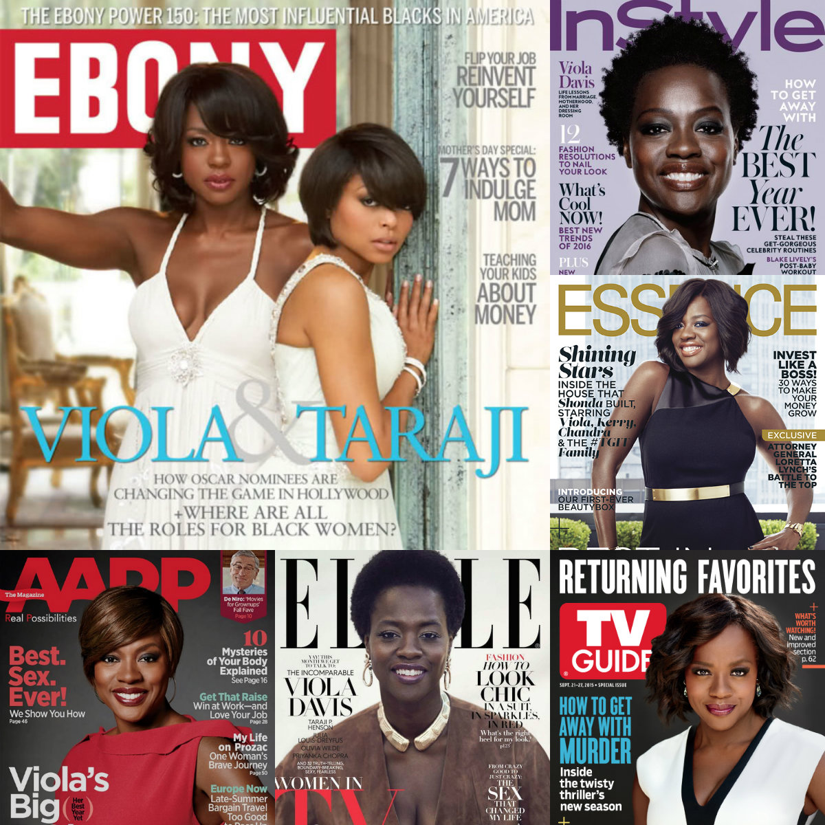 Award winning,  Juilliard alum, Viola Davis